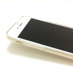 iPhone6S/iPhone6ケースTPUソフトケース半透明サックス熊