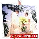ウェルカムボード 結婚 キャンバスフォトプリント F6号 410x318mm | ウェディング ブライダル 写真 プリント ギフト 名入れ 結婚祝い …