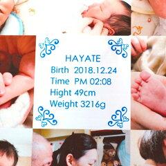 【送料無料】フォトアクリルプレート(20×20×1センチ)プレゼント名入れギフト思い出子どもこども子供赤ちゃんフォトフレームフォトスタンド写真記念フォト出産祝誕生日バースデイ【05P27May16】【父の日ギフト】
