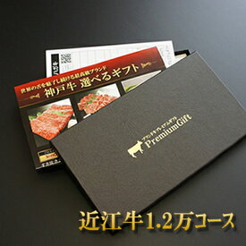 近江牛選べるギフト券ボックス(1.2万コース)