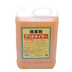 非農耕地用除草剤 グリホタイガー 5L 【グリホサート液剤】