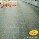 水稲用育苗下敷きシート マイシート 幅4.5m(2.5間) 長さ1m単位で指定可能