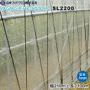 防虫ネット サンサンネット ソフライト SL2200 目合い1mm 巾210cm×長さ100m