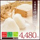 【新米】【送料無料】28年度産米 宮城県産 ササニシキ 10kg(5kg×2袋) ***簡易梱包***