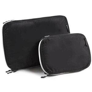 トラベラブ トラベラブ圧縮バッグ 旅行用圧縮バッグ S&Lサイズセット 2個セット 旅行便利グッズ