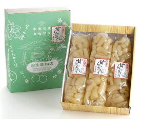 【羽生漬物店】茨城の甘楽京(1350g)