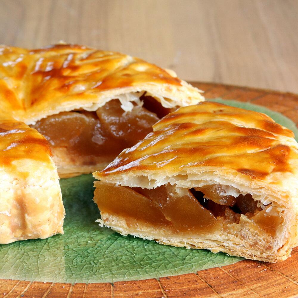 焼き立てを発送します 蜜 アップルパイ 青森県産りんご