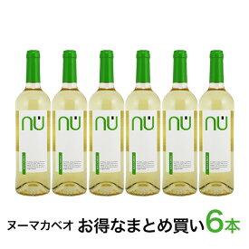 単品合計7200円が6本セットで6680円 白ワイン 辛口 ヌー マカベオ DO バレンシア 6本セット 2013 スペイン マカベオ使用 750ml 自社輸入
