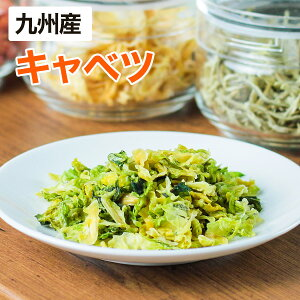 【メール便】 乾燥野菜 キャベツ 28g(生野菜310g相当)九州産野菜 安心安全国産 長期保存が可能なエアドライタイプ 非常食や保存食として