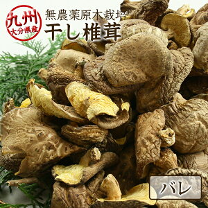 干し椎茸 乾燥椎茸 バレ 300g 九州大分県産 国産 しいたけ シイタケ 原木栽培