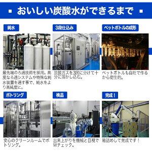 強炭酸水500ml×24本送料無料クオスうまさを感じる強炭酸水KUOSGV5.3完全国産プレーン