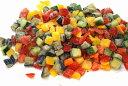 イタリアンミックスMサイズ1.5cmカット500g(冷凍野菜)