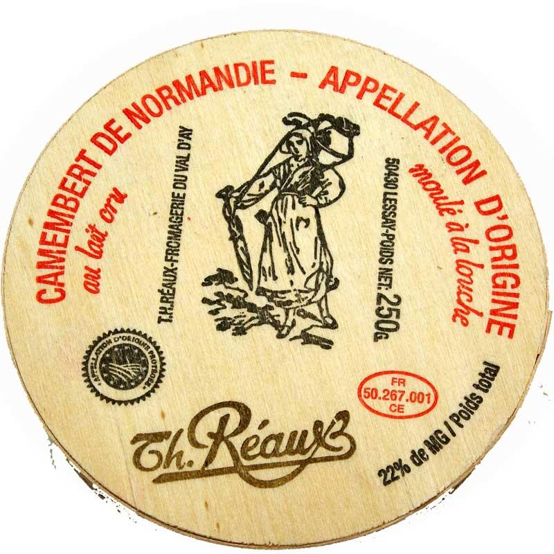 白カビ チーズ カマンベール ド ノルマンディー AOP 250g レオ社 21日以上熟成 フランス産