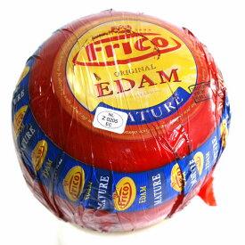 ハード セミハード チーズ エダム(赤球) 約1.6Kg オランダ産 毎週火・木曜日発送