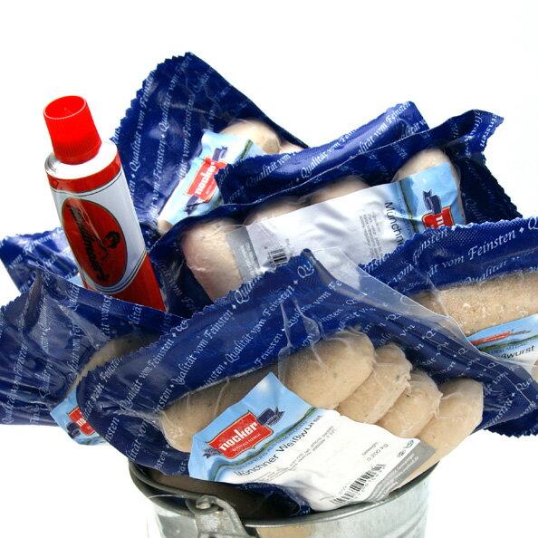 ソーセージ ドイツ産 ヴァイスヴルスト ノッカー社 12パックセット 箱入り 業務用 (冷凍) お中元 ギフト 贈り物