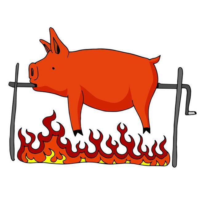 ミルクフェッド仔豚 丸 約5Kg BOPEPOR BBQ bbq 焼肉 お中元 ギフトプレゼント 夏休み キャンプ バーベキュー 肉皮付豚肉