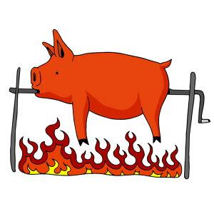 ミルクフェッド仔豚 丸 約5Kg BOPEPOR BBQ bbq 焼肉 夏休み キャンプ バーベキュー 肉皮付豚肉 ラングドックやスペインのご馳走