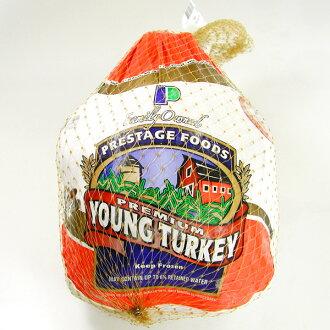 土耳其(吐绶鸡)22-24英镑(约9.9-10.8Kg)圆鸟丸鸡纯朴的冷冻土耳其腿完整的鸡肉圣诞节派对