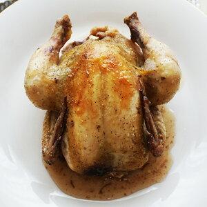 コクレ(ひな鶏 頭無 中抜き)「プーサン」 500-600g (冷凍)フランス・ブルターニュ産 ローストチキン 唐揚げ 二人のデイナーに パーティに