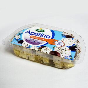 フレッシュ チーズ フェタオイル漬け ブラックオリーブ入り 100g デンマーク産 毎週火・木曜日発送