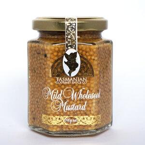 タスマニアンマスタード マイルドホール 190g (常温) オーストラリア産 タスマニア 粒マスタード フレッシュマスタード