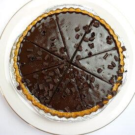 チョコレートのタルト タルト オゥ ショコラ 直径21cm フランス産 カット済 チョコ 甘党 ケーキ好き