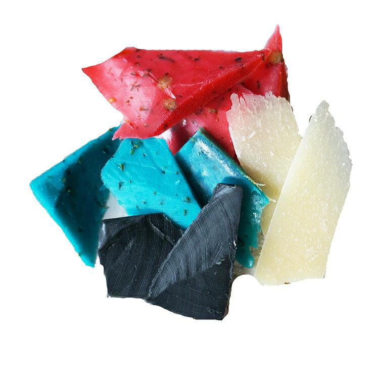 ハロウィンで食べたい「悪魔のチーズセット」(農家製ゴーダ/ブラックレモン/パプリカレッド/ラベンダーブルー)ハロウィン限定