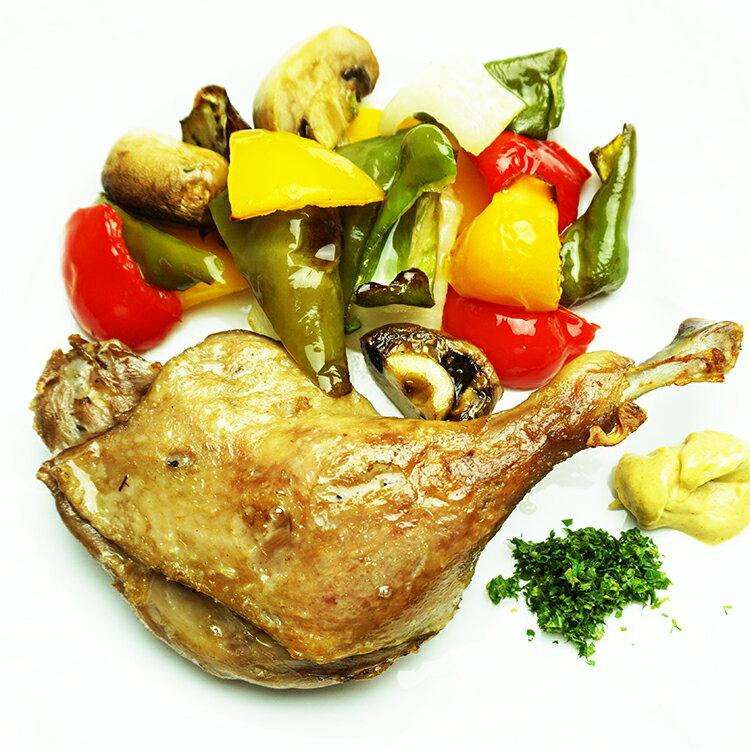 合鴨のコンフィ 200g 調理済み 骨付き鴨 腿肉 タイ産
