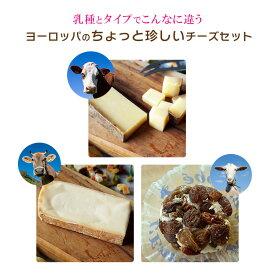 ヨーロッパのちょっと珍しい チーズ お試しセット(アボンダンス80・タレッジョ80・クロタンレザン)送料無料 毎週火・木曜日発送