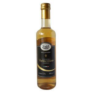 白ワインビネガー サンジュリアーノ ヴェルメンティーノ 500ml イタリア産 (常温)