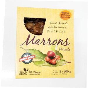 マロン 100% (ボイル剥栗) 200gx2 常温品 フランス/ペリゴール産