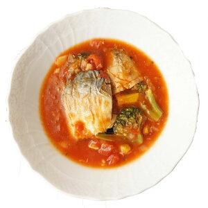 三陸の青魚と野菜のトマト煮「さばの切り身入り」170g 宮城県産