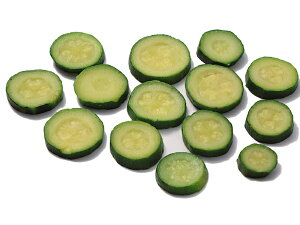 冷凍野菜 ボンデュエル 冷凍 クルジェット・ロンデル(輪切りズッキーニ)2.5kg