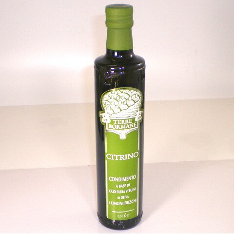 チトリノ レモンの薫りのオリーブオイル 500ml テッレ・ボルマーネ イタリア産オリーブオイル
