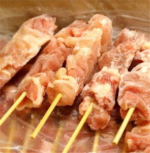 焼き鳥 もも串 国内産 モモ丸串 手刺し 40g 50本入 冷凍 麻布あさひ 焼き鳥屋の定番
