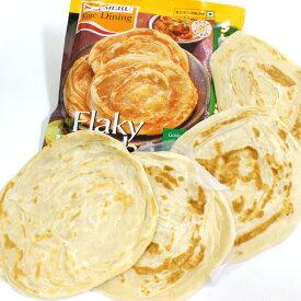 「5袋セット」パラタ (無添加手作り半焼成パン) 4枚入り400gx5 【送料無料】インドのパン クロワッサンとナンの良いとこ取り♪paratha