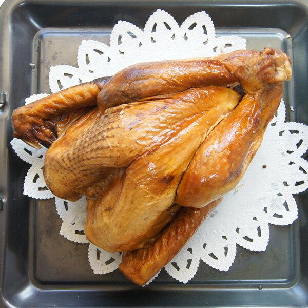 スモークターキー 七面鳥 6〜8人用(約2.5Kg) 丸鶏 丸鳥 丸ごと 鶏肉 クリスマス グルメ 取り寄せ 2017 パーティー レシピ 【即納可】