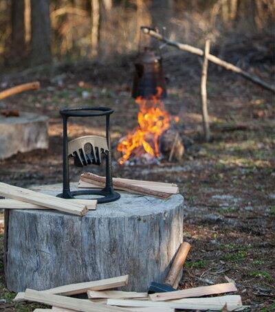 刃物を使わない薪割り器KINDLINGCRACKERキンドリングクラッカーキンクラ薪割り薪割り道具焚き火焚き付け用サバイバルキャンプ薪ストーブ