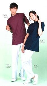 【住商モンブラン/MONTBLANC】【パンツ(メンズ) 白 72-891 ズボン/メディカル/メディカルウェア/クリニック/レディース/白衣/ナース/医療/ドクター】