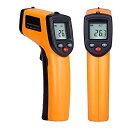 赤外線放射温度計 非接触 デジタル温度測定器 ガンタイプで携帯型 温度計 ワインクーラー暑いアスファルト、料理 簡…