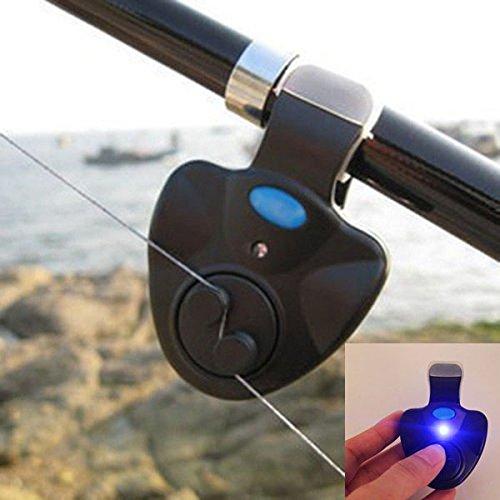 釣りアラーム フィッシング ヒットセンサー アタリをお知らせ 警告 アラーム 光でお知らせ 取り付け簡単 お得