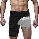 股関節ベルト 歩行改善 骨盤矯正 通気性に優れた 股関節サポーター 装着簡単 マジックテープ付 調整可能 男女兼用 左…