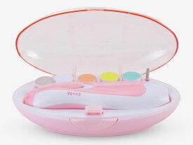 (出産祝いにも)電動ベビーネイルケアキット 赤ちゃん爪切りセット(お母さんも使えます)