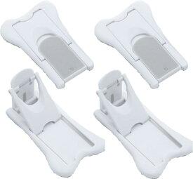 スライドドアストッパー4個セット ベビーガード ベビロック ドアロック ワンタッチロック 赤ちゃんロック 安全対策