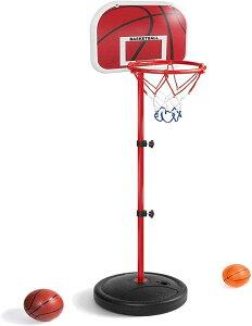 ミニ バスケットゴール バスケットボールセット 子供用 バスボールスタンド 高さ調節可能