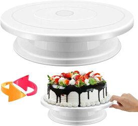 ケーキ回転台 ケーキ装飾台 ケーキ作り用 ターンテーブル