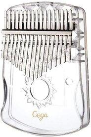 カリンバ 17キー 透明 親指ピアノ kalimba C調 楽器 アクリル 初心者向け