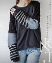 【再入荷♪1月20日22時より】ニットトップス。デザイン。3種のニットデザイン。このお袖に惚れました。11/29×メール…