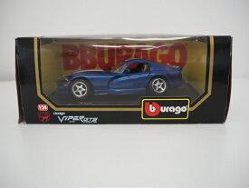 【中古】【ミニカー】burago Dodge VIPER(1996)cod.1530 1/24<ジャンク品>