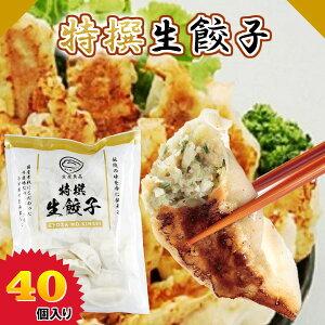 特撰生餃子 40個 ぎょうざ 冷凍餃子 お取り寄せ 惣菜 おつまみ 金星食品